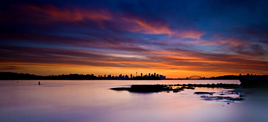 Sydney Sunset1 by HarryZero