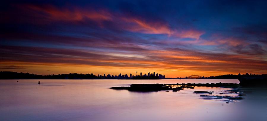 Sydney Sunset1 by HarryZero