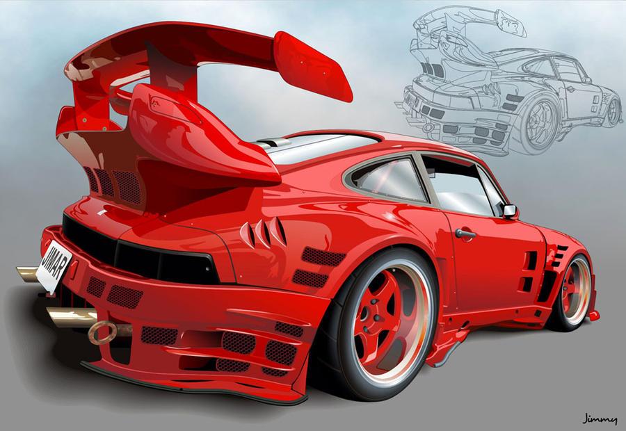 the Porsche by bandila