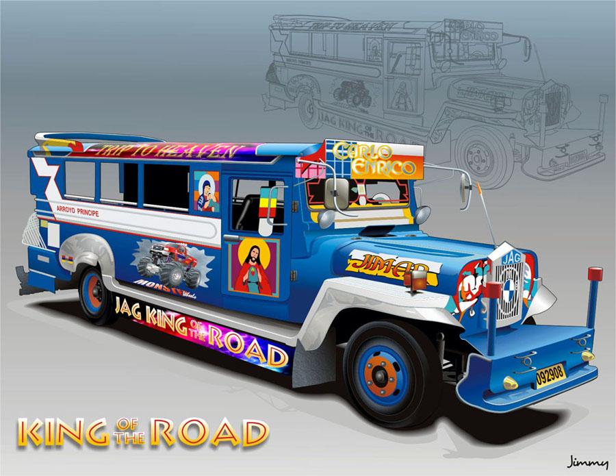 Jeepney by bandila on ...