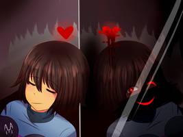 Undertale - Mirrors by ArtisticAnimal101