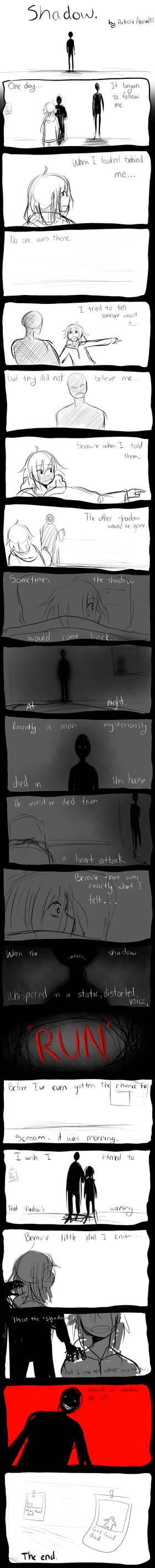 Spooky Comic- Shadow