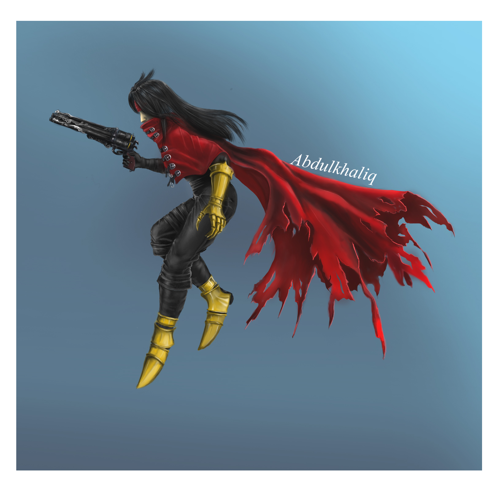 Vincent valentine by x-rayer