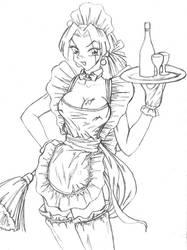 Hentai Waitress by HelioSaara