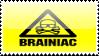 Brainiac Stamp by CrazyCatzilla