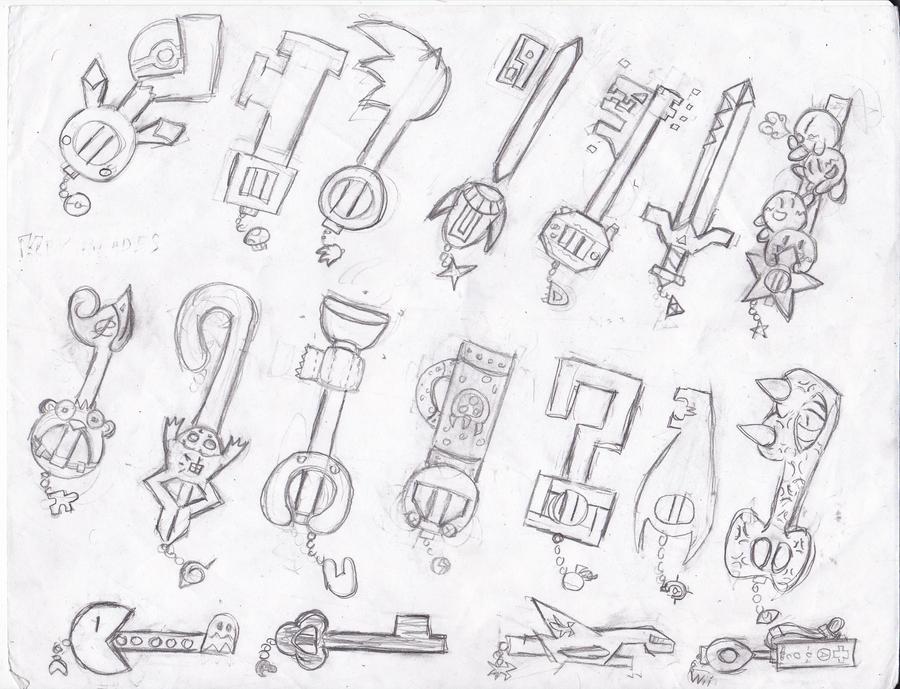 Keyblade Base By Powbunny On Deviantart
