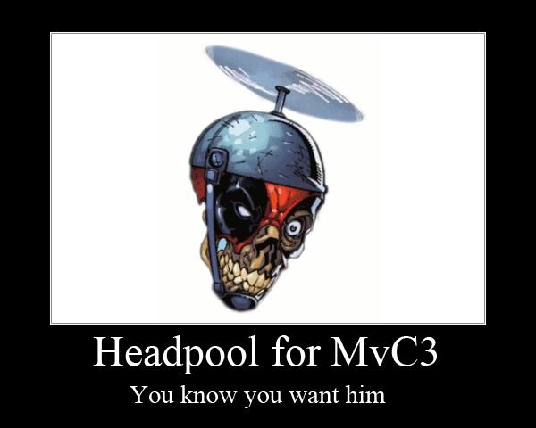 Headpool for mvc3 by sonic chaos on deviantart for Headpool