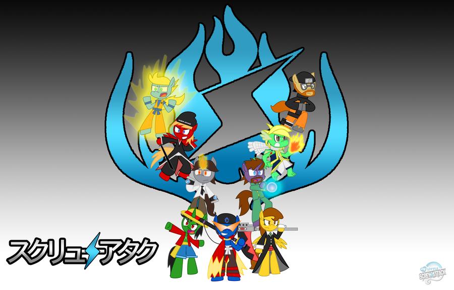 My Little ScrewAttack - Shonen Screw by Sonic-chaos
