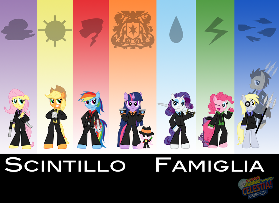 Katekyo Hitman Celestia!- Scintillo/Vongola Family by Sonic-chaos