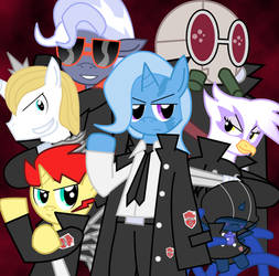 Katekyo Hitman Celestia! - The Varia Songs by Sonic-chaos