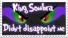 King Sombra Didn't Disappoint Stamp