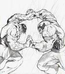 Hulk v. Juggernaut 1st pencils