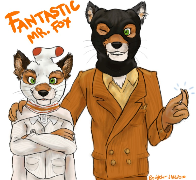 Ash And Mr Fox By Booyeh On Deviantart
