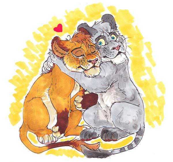 Loo Hugs by BooYeh