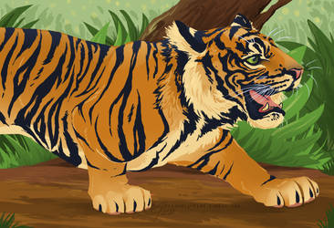 Crouching Tiger by BooYeh