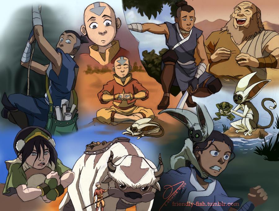 Avatar Last Airbender Art Dump By BooYeh