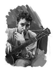 Bob Dylan by BooYeh