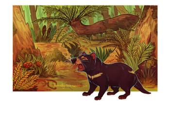 Tasmanian Devil by BooYeh