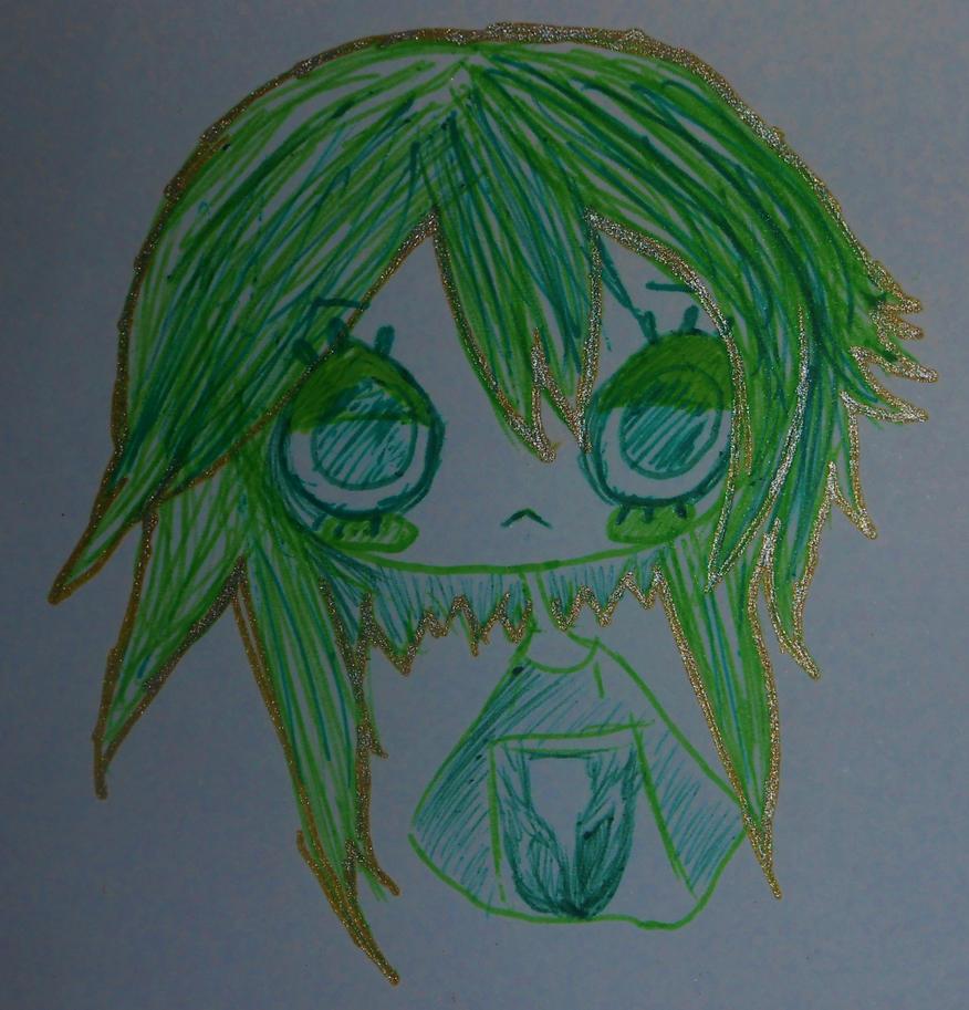 Green Girl by NicolletteNikkiAce