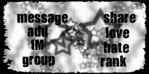 MySpace Contact Box - Grey Stars