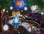 Alice In Wonderland: Stars In The Forest
