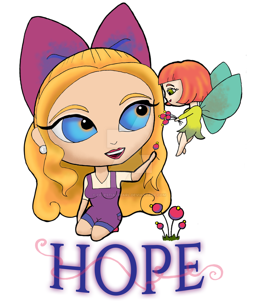 Rosie and Rockette: HOPE by CelestialPearl