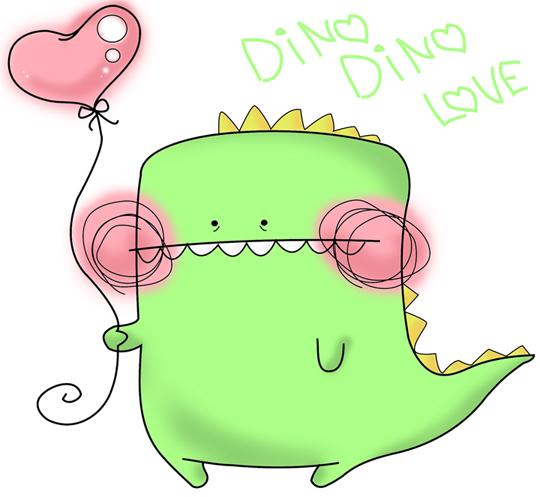 Dino dino love. by Rhodesan