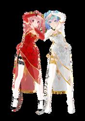 [DL] TDA Canary China Dress Teto by AtsushiSun