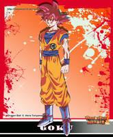 DB Heroes Goku ssjg by Metamine10