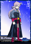 Blue Dragon - Delphinium by Metamine10