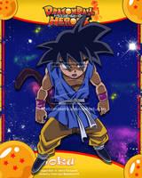 DB Heroes Goku Maligno by Metamine10