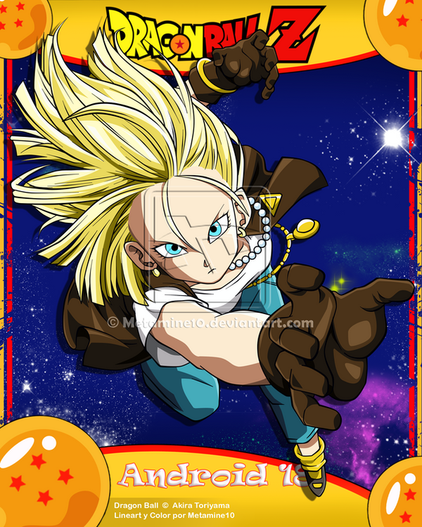 Dragon Ball Super Wallpaper Android Hd: DBZ Android 18 By Metamine10 On DeviantArt