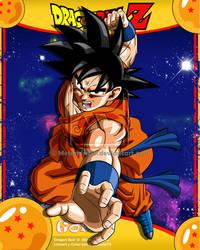 DBZ Goku by Metamine10