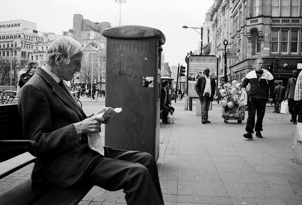 reader by AnalogPhotographers