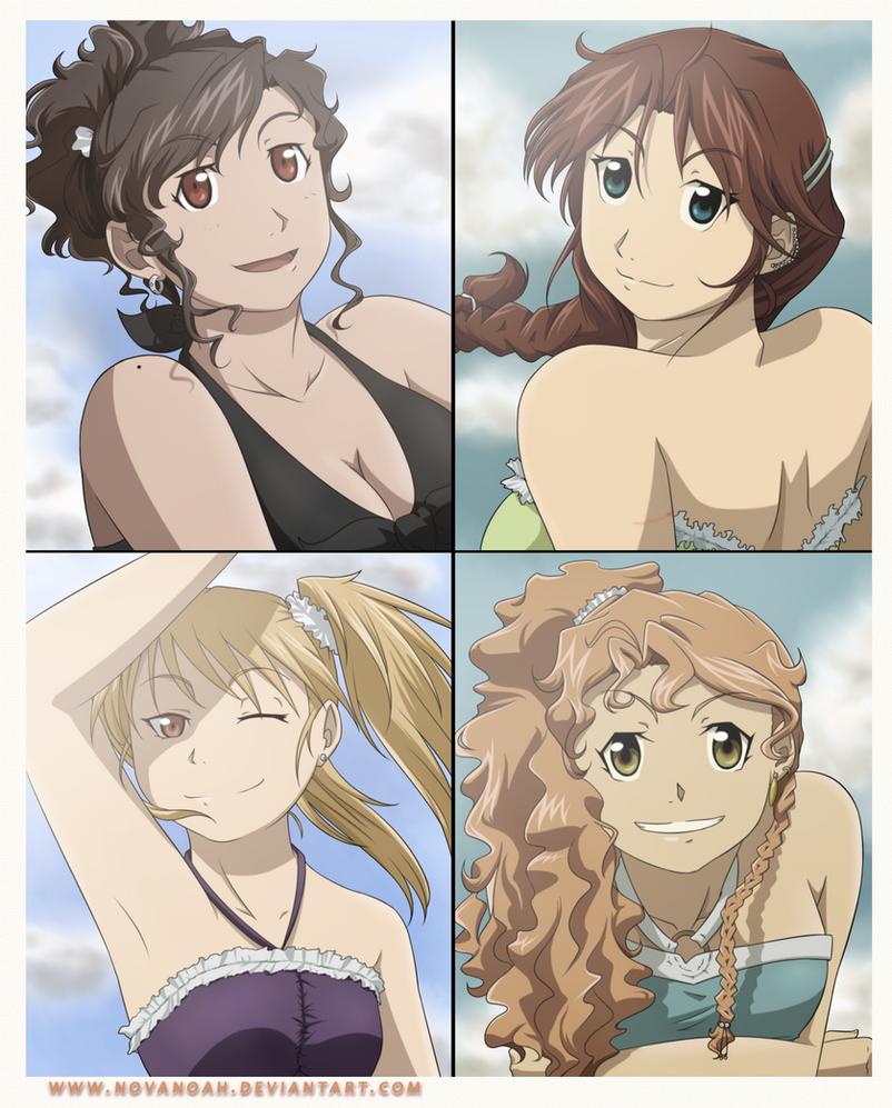 Summer babes by NoVaNoah