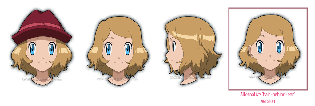 Serena's new design by NoVaNoah on DeviantArt