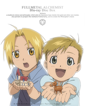 FMA Redraw - Elric brothers