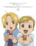 FMA Redraw - Elric brothers by NoVaNoah