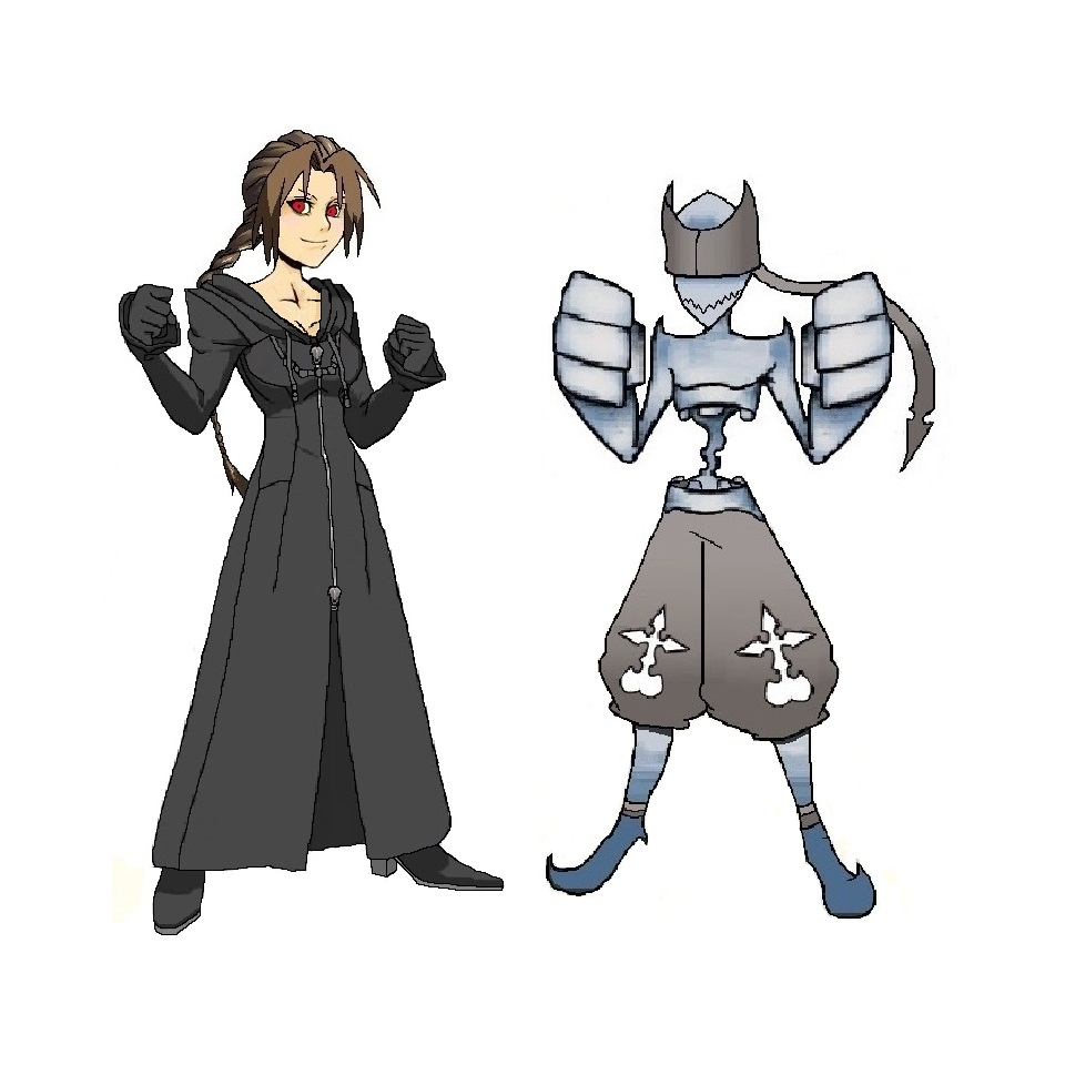 Kingdom Hearts OC Hex And A Fighter Nobody By Hexalys On