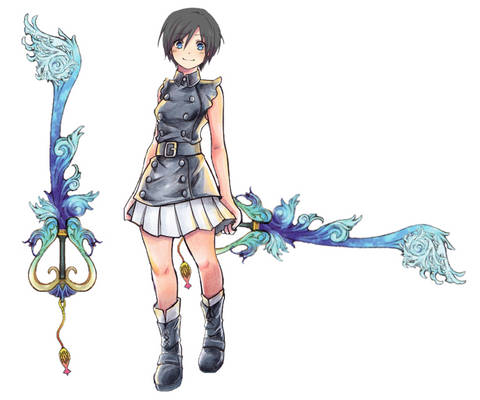 Xion's Keyblade: Seashell Resonance