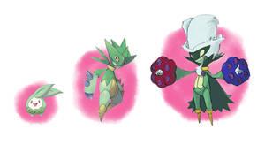 Pokemon Budew, Rosorn, Rosenist
