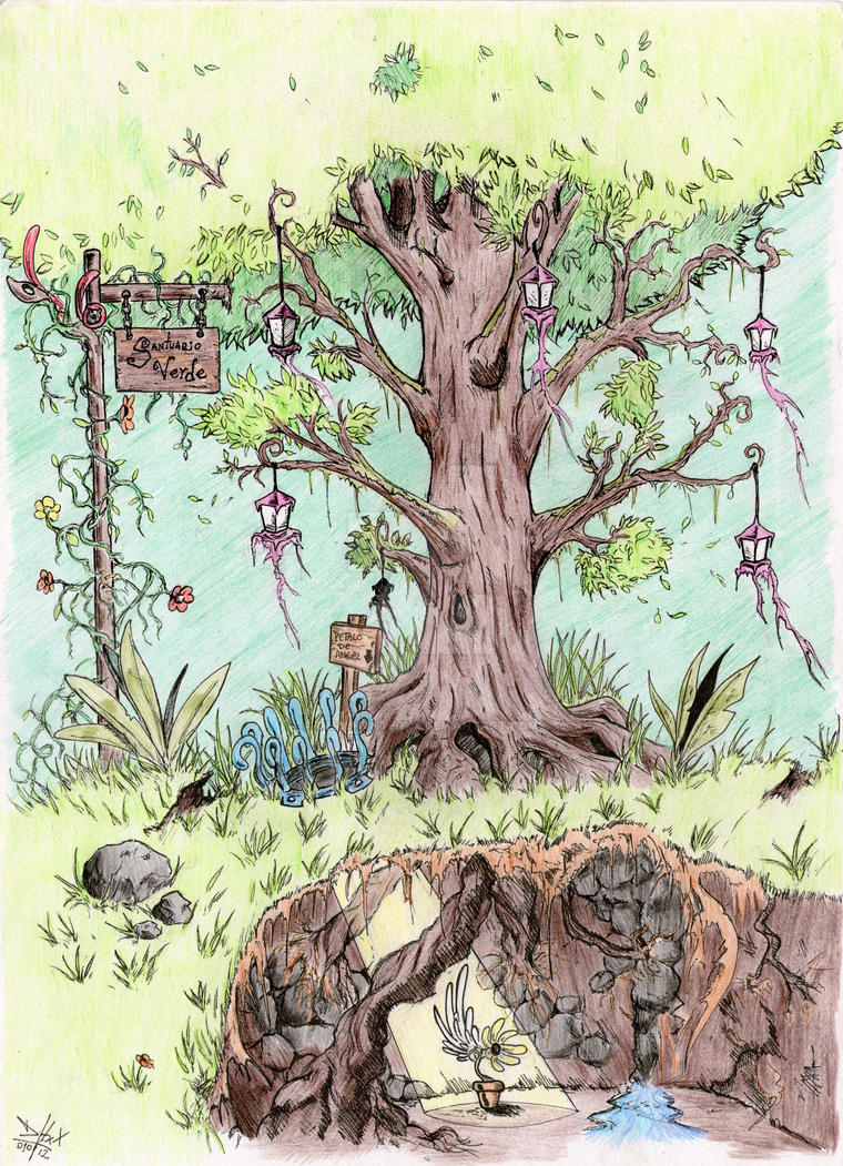 Fantasy Flora by DevilHunterXX