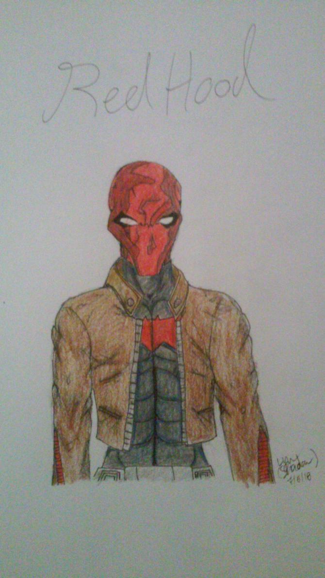 Jason Todd Red Hood FanArt by LynUnderwood