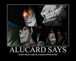 alucard says motivational