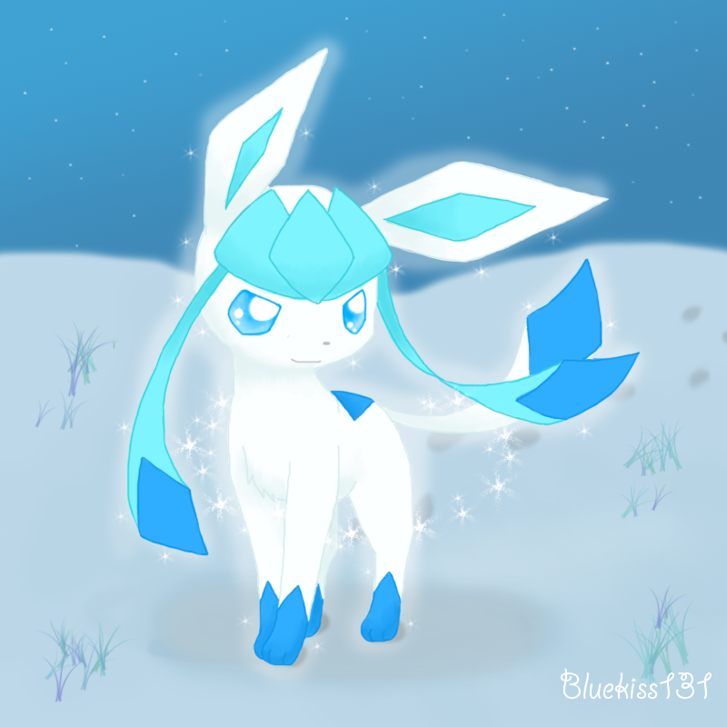 Shiny Glaceon 2 by Bluekiss131
