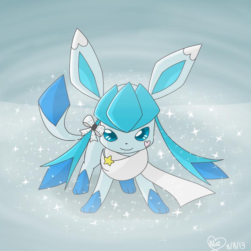 Pokemon OC: Bluekiss- Diamond Dust Flurry by Bluekiss131