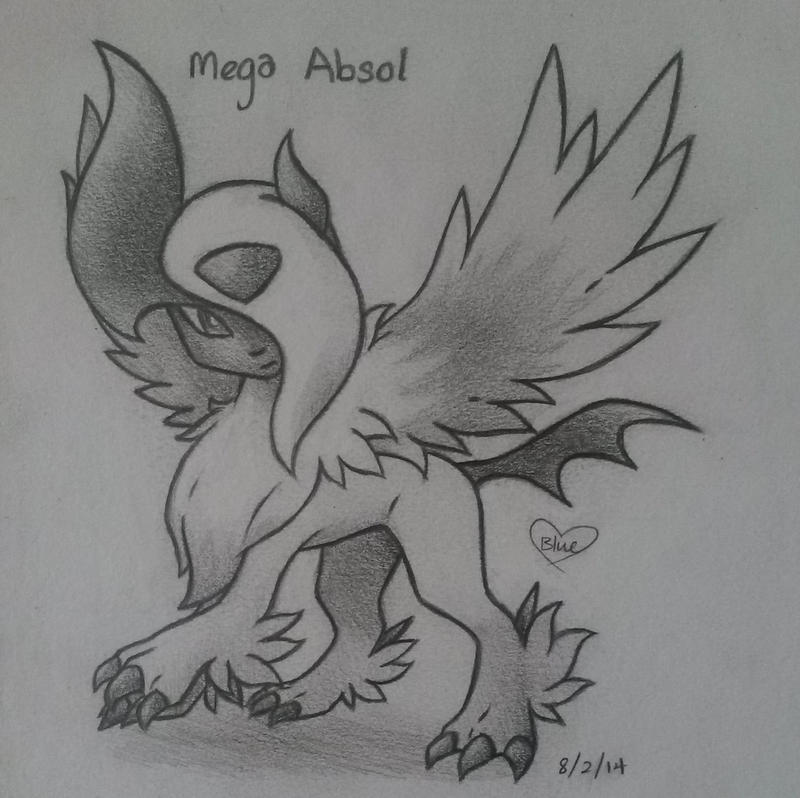 Mega Absol by Bluekiss131