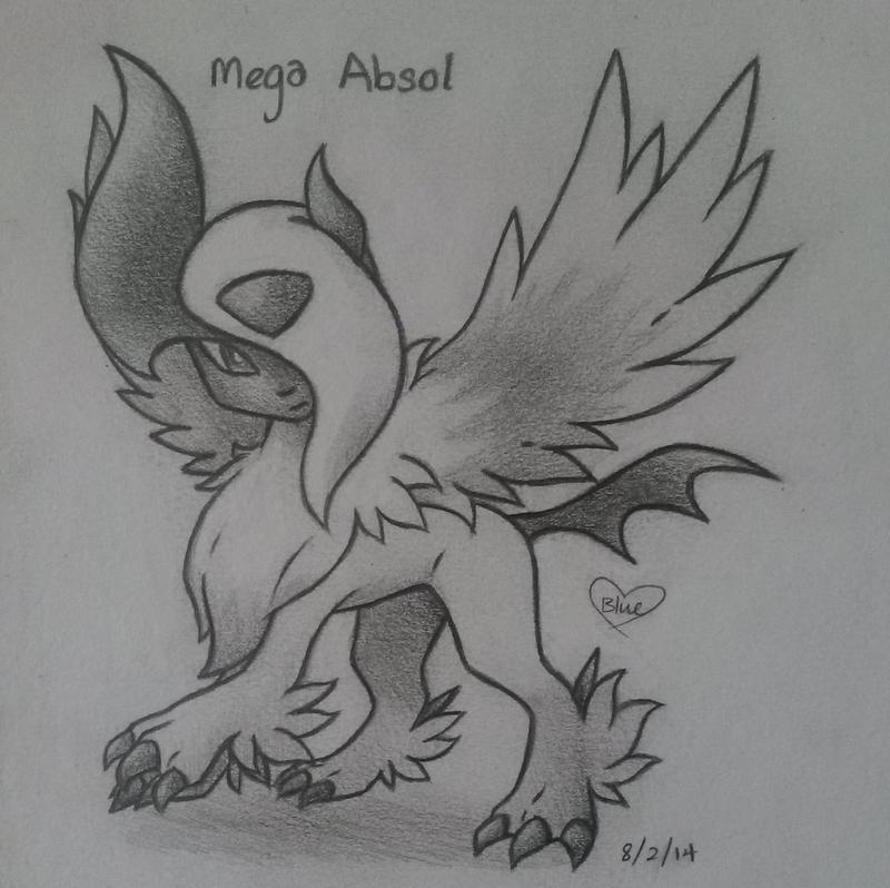 Mega Absol by Bluekiss131