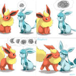 Flareon x Glaceon