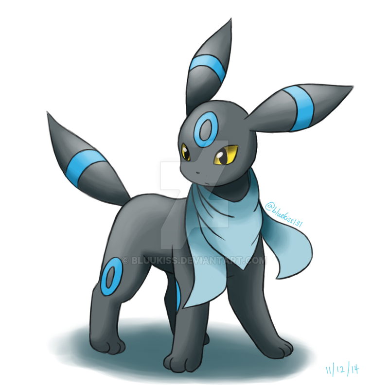 Request shiny umbreon with foulard by bluukiss on deviantart - Pokemon noctali ...